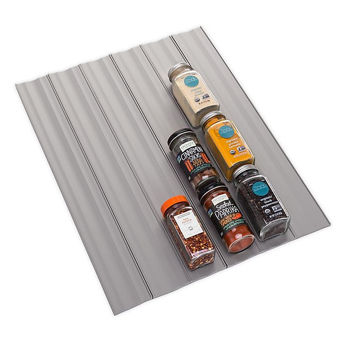 Alternate image 1 for Youcopia® SpiceLiner 10-Foot Spice Drawer Organizer
