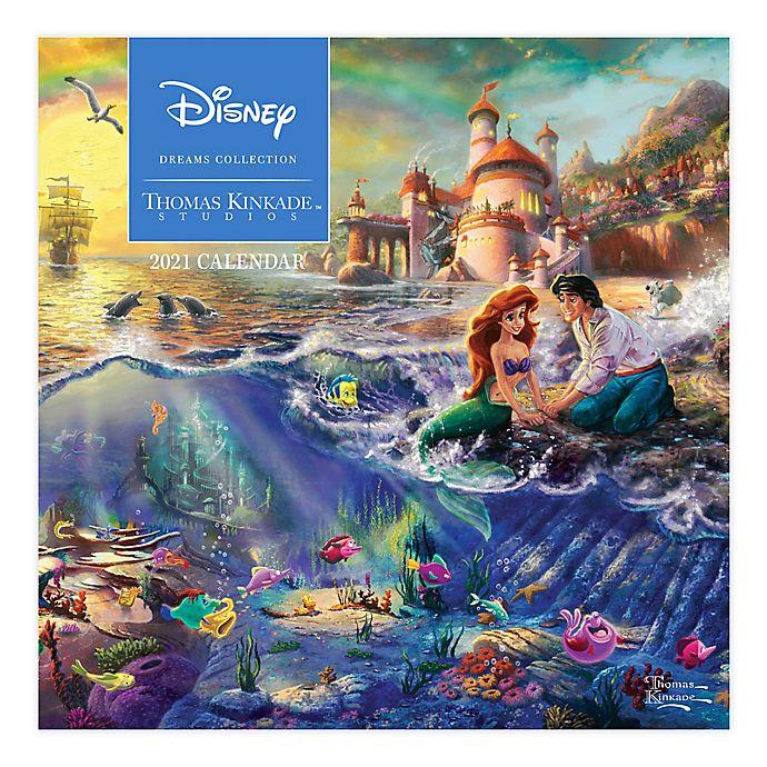 Alternate image 1 for Thomas Kinkade Studios Disney Dreams® September 2020 - December 2021 Wall Calendar