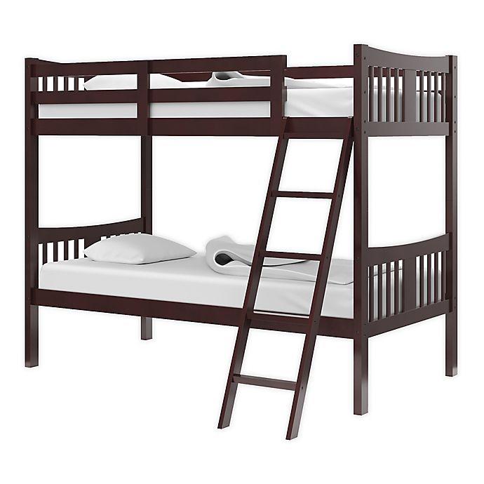 Alternate image 1 for Storkcraft Caribou Twin Bunk Bed