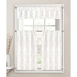Colordrift Brianna Fret Window Curtain Collection