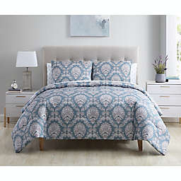 Ellen Tracy Florence 7-Piece Queen Comforter Set in Teal