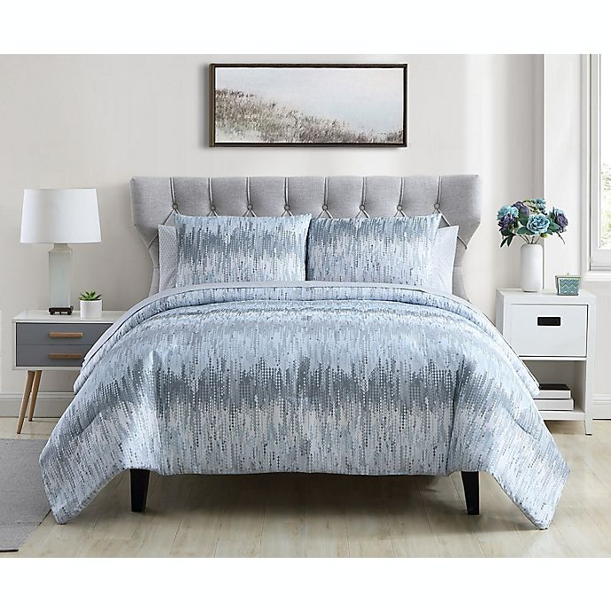 Alternate image 1 for Ellen Tracy Skye 7-Piece Comforter Set