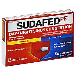 Sudafed PE® 20-Count Sinus Congestion Day + Night