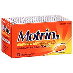 Motrin® IB 24-Count 200 mg Ibuprofen Caplets