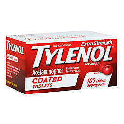 Tylenol® Extra Strength 100-Count 500 mg Pain Reliever Caplets