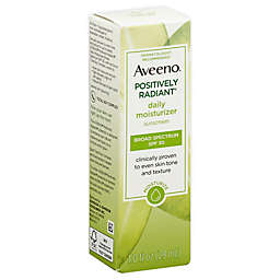 Aveeno® Positively Radiant® 1 oz. SPF 30 Daily Moisturizer Sunscreen