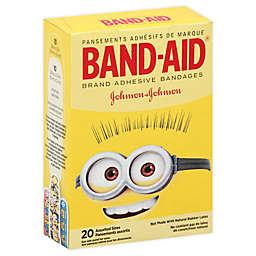 Johnson & Johnson Band-Aid® Minions 20-Count Adhesive Bandages