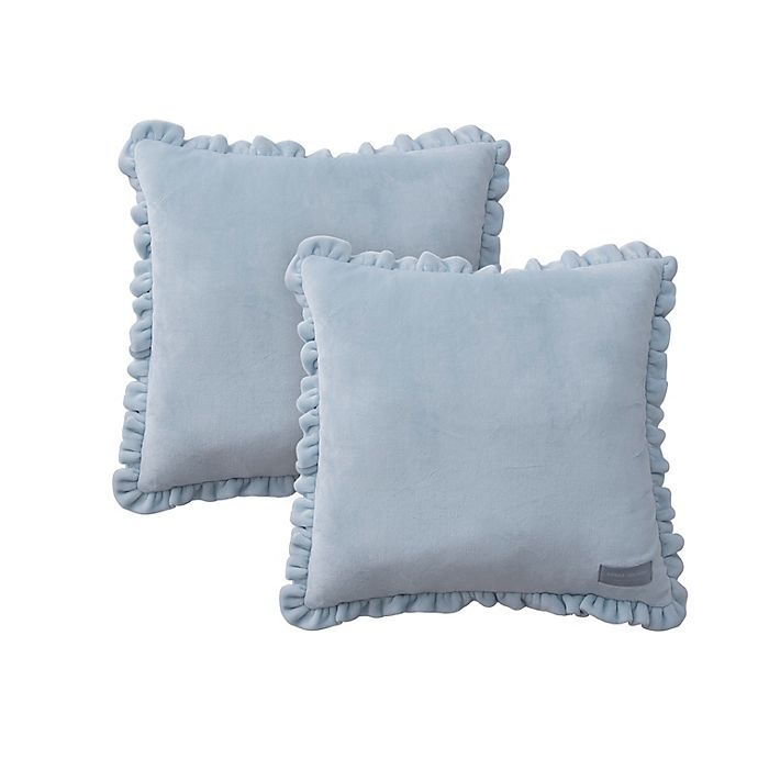 Alternate image 1 for Carole Hochman Ruffle Square Throw Pillow