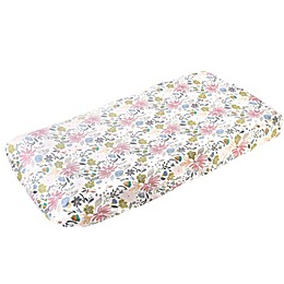 Copper Pearl Olive Changing Pad Cover