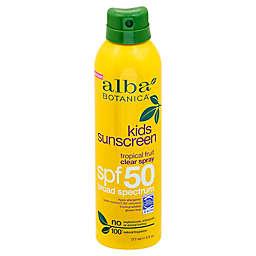 Alba Botanica® Tropical Fruit Clear Spray Kids SPF 50 Sunscreen