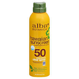 Alba Botanica® SPF 50 Clear Spray Hawaiian Sunscreen