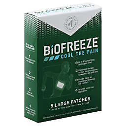 Biofreeze® 5-Count Pain Relief Patches