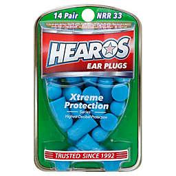 Hearos® Xtreme 14-Pair Protection Ear Plugs