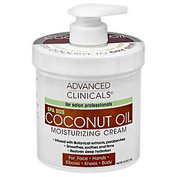 Advanced Clinicals® 16 oz. Coconut Oil Moisturizing Cream