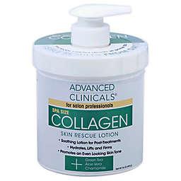 Advanced Clinicals® 16 oz. Collagen Skin Rescue Lotion