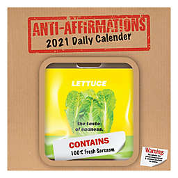 TF Publishing Anti-Affirmations 2021 Daily Desktop Calendar