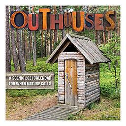 TF Publishing Outhouses 2021 Wall Calendar
