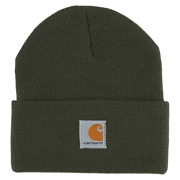 Alternate image 1 for Carhartt® One Size Watch Hat in Olive