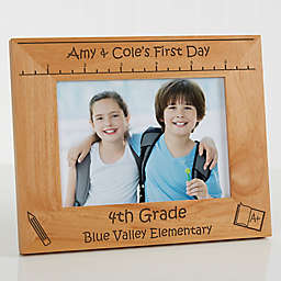 1st Day of School 5-Inch x 7-Inch Picture Frame