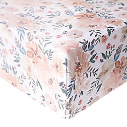 Copper Pearl Autumn Fitted Crib Sheet
