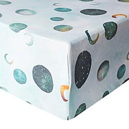 Copper Pearl Lunar Fitted Crib Sheet