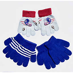 Toby Fairy™ 3-Pack Football Toddler Gripper Mittens