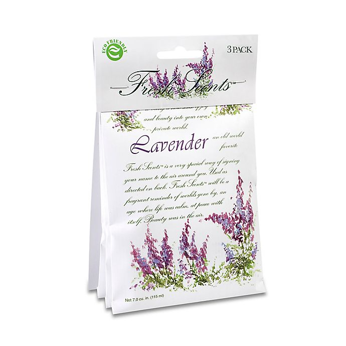 Alternate image 1 for Fresh Scents™ Scent Packets in Lavender (Set of 3)