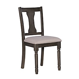 Powell Sweeney Dining Side Chairs in Grey (Set of 2)