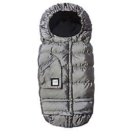 7AM® Enfant Blanket 212 Evolution® Extendable Footmuff w/Fleece Lining Metallic Grey