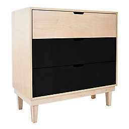 Nico & Yeye Kabano Kids 3-Drawer Dresser in Maple