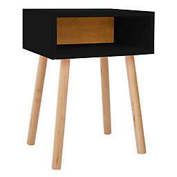 Nico & Yeye Minimo Kids Nightstand in Maple