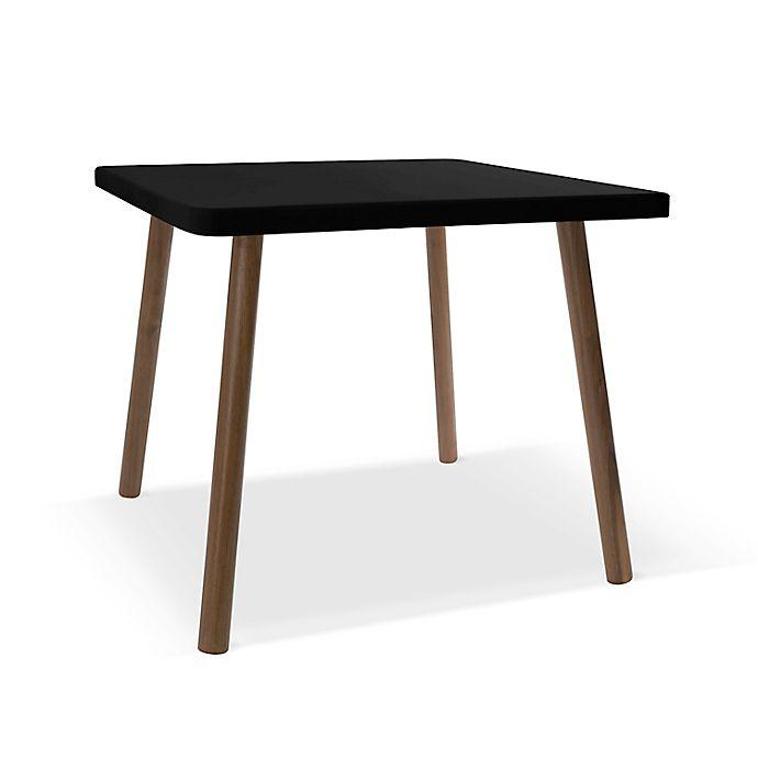 Alternate image 1 for Nico & Yeye Tippy Toe 30-Inch Square Kids Table in Maple/Black
