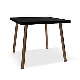 Nico & Yeye Tippy Toe 23.5-Inch Square Kids Table in Walnut