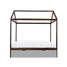 Nico & Yeye Domo Zen Canopy Bed with Trundle