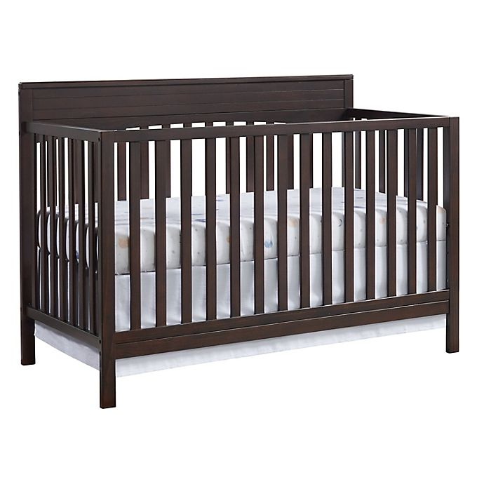 Alternate image 1 for Oxford Baby Harper 4-in-1 Convertible Crib in Espresso