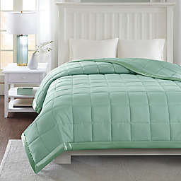 Madison Park Windom 3M Scotchgard Down Alternative King Blanket in Seafoam