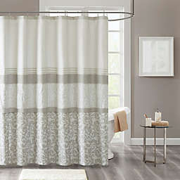 Ramsey Shower Curtain in Neutral