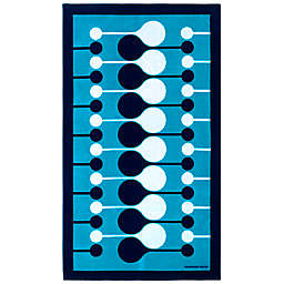 Jonathan Adler™ Droplet Blue Beach Towel