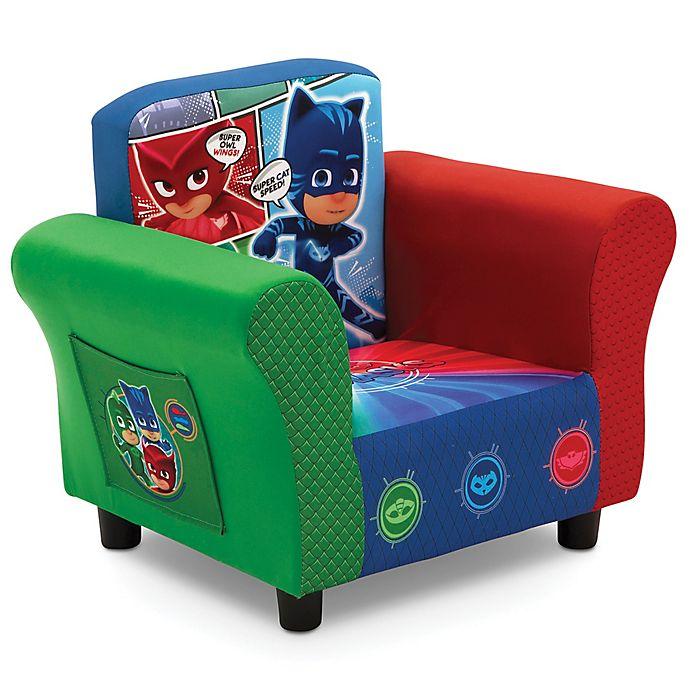 Alternate image 1 for Delta Children Disney® PJ Masks Upholstered Chair in Blue