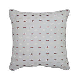 Croscill® Clapton Diamond Embroidered Square Throw Pillow