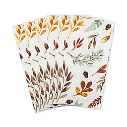 Falling Leaves Printed Napkins (Set of 6)