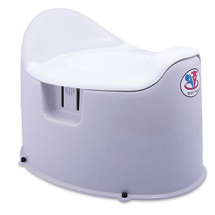 Alternate image 1 for Potty Safe Child-Proof Potty Trainer in Grey