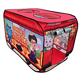 M&M Enterprises Daniel Tiger's Neighborhood™ Trolley Pop-Up Tent in Red