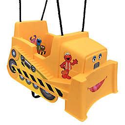 M&M Sales Enterprises Sesame Street® Bulldozer Toddler Swing in Yellow