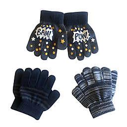 Toby Fairy™ 3-Pack Bam Pow Toddler Gripper Mittens