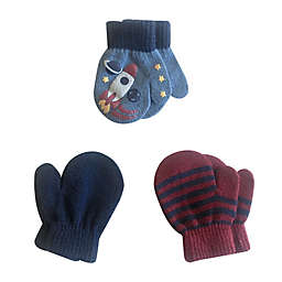 Toby Fairy™ 3-Pack Rocket Toddler Gripper Mittens