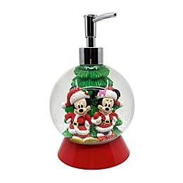 Disney® Mickey and Minnie Snow Globe Lotion Pump