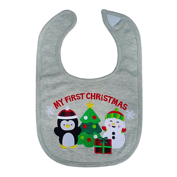 Alternate image 1 for Neat Solutions® 'My First Christmas' Bib
