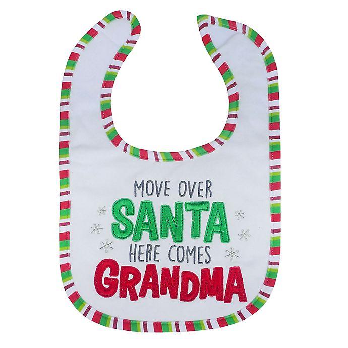 Alternate image 1 for Neat Solutions® 'Move Over Santa' Christmas Bib