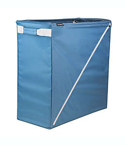 Cesto para ropa sucia plegable CleverMade® Sparrow en azul